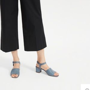 Everlane Block Heeled Sandal